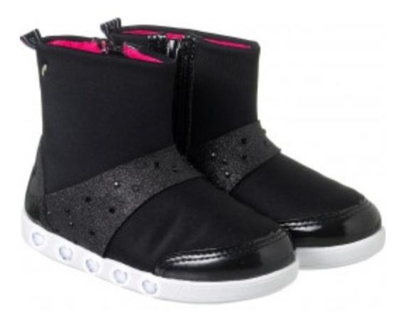 Tênis Sneaker Bota Luz Preto Pampili