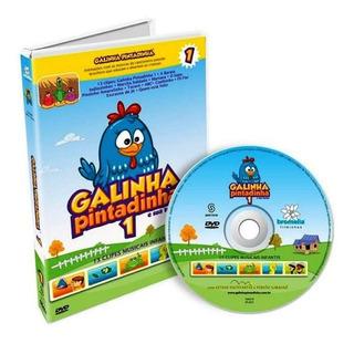 6 Dvds - Coleção Completa Galinha Pintadinha - 97 Clipes