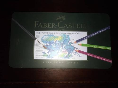 Colores Faber Castell Polychromos Policromos 120 Acuarela