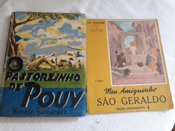 2 Livrinhos Para Crianças Antigos -leia Descrição