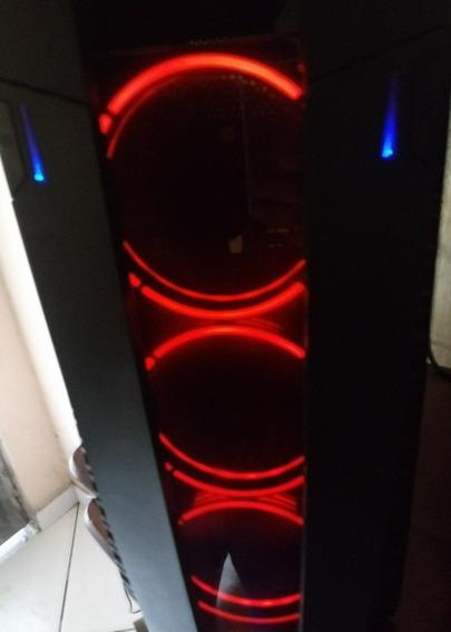 Cpu Gamer I7 7700 Top, 8 Gb Ddr4, Rx460 4gb Gddr5, Fonte 500
