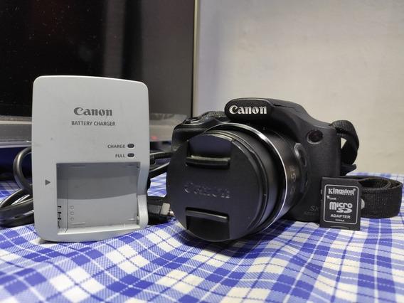 Câmera Canon Sx 520 Hs Promoção Semi Novo