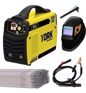 Máquina De Solda Inversor Kab 250 Biv - Tork Ie-8250-bv