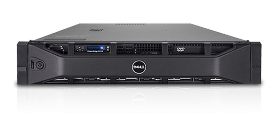 Servidor Dell R510, 2x Xeon L5530 2.4 Ghz, 16gb, 600 Gb Sas