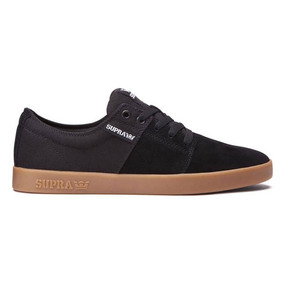 Zapatos Supra Stacks Black Gum