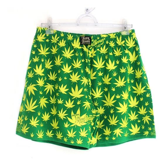 Cueca Samba Canção Cannabis Maconha Verde Ganja Marijuana Rb