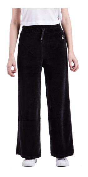 Pantalon Velvet Pull Negro Mujer Le Coq Sportif