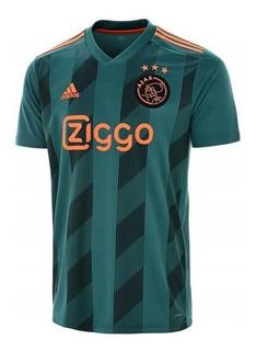 Camisa Ajax Way Verde 2019-20 ( Pronta Entrega ) Envio 24h