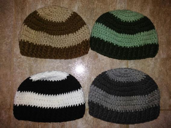 Gorro Tejido Al Crochet Para Niños