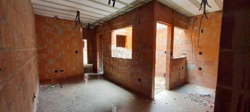 Imagem 1 de 24 de Cobertura À Venda, 90 M² Por R$ 345.000,00 - Vila Pires - Santo André/sp - Co5326
