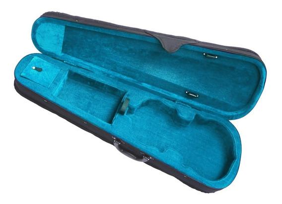 Estojo Para Violino 4/4 Modelo Gota Brinde Suporte R0703