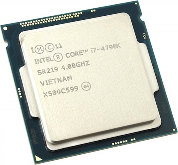 Processador gamer Intel Core i7-4790K BX80646I74790K de 4 núcleos e 4.4GHz de frequência com gráfica integrada