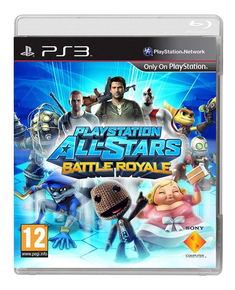 Playstation All Stars Battle Royale Ps3 Mídia Física Usado