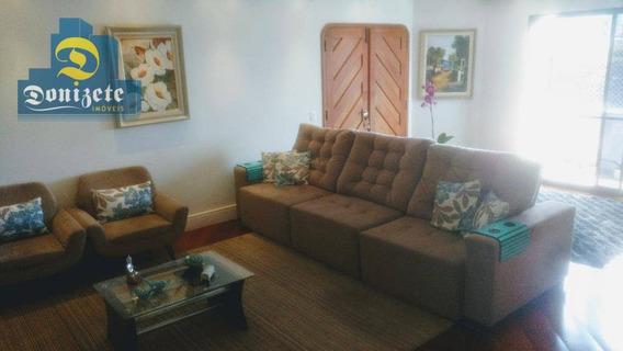Apartamento Com 3 Dormitórios À Venda, 200 M² Por R$ 980.000,00 - Centro - Santo André/sp - Ap7454