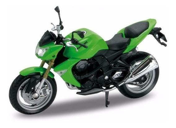 Moto Welly Colección Escala 1:18 Kawasaki Z1000