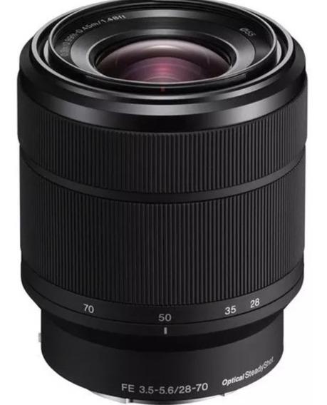 Lente Sony Fe 28-70mm F/3.5-5.6 Oss E-mount 12x S Juros