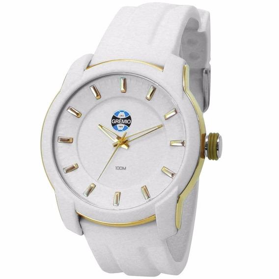 Relógio Unissex Grêmio Technos Branco - Gre2035ab/8b