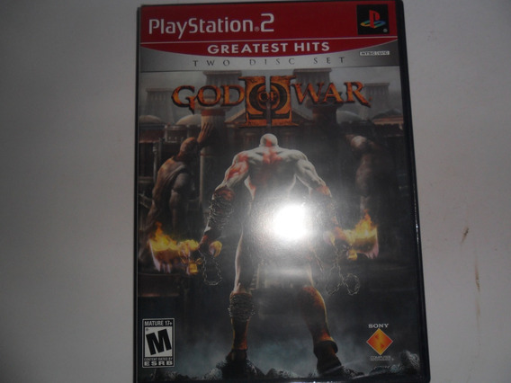 Jogo God Of War 2 Para Ps2 Playstation2
