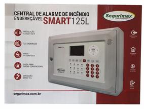 Central Alarme De Incêndio Endereçável 125 Setor C/ Bateria