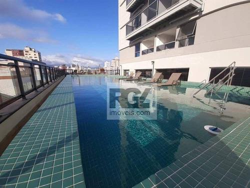 Exclusividade, Max Haus Embaré, Decorado Por Arquiteto,apartamento À Venda Por R$ 800.000 - Embaré - Santos/sp - Ap7951