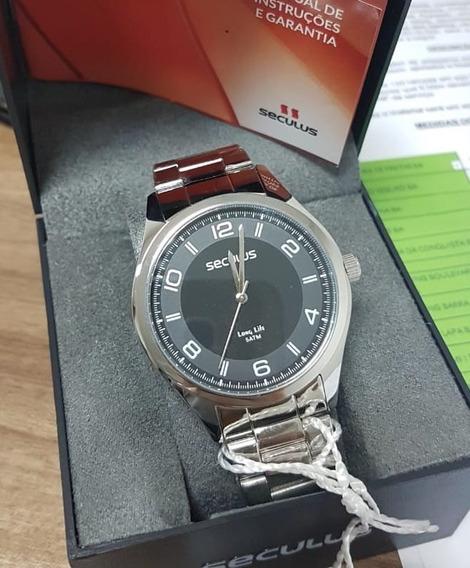 Relógio Analógico Masculino Inox