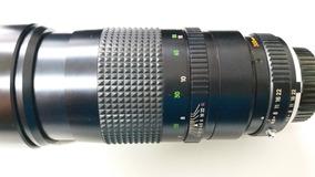 Lente Analógica Minolta 1:4.5 F = 300mm.