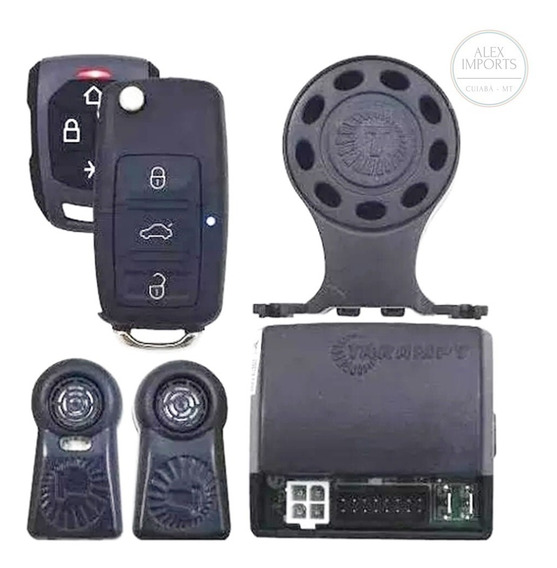 Alarme Automotivo Hinor Ha20 Com Chave Canivete Alex Imports