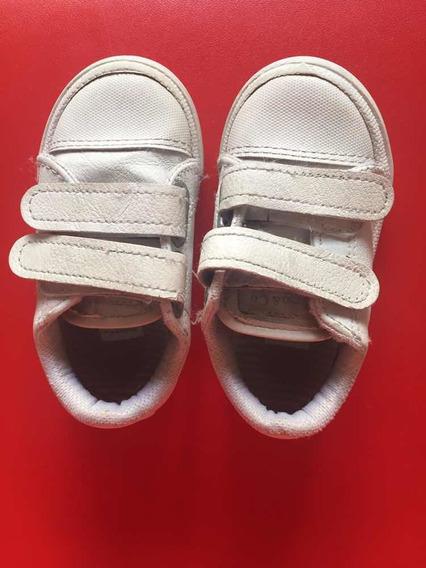 Zapatillas Blancas Niño Mimo Número 23