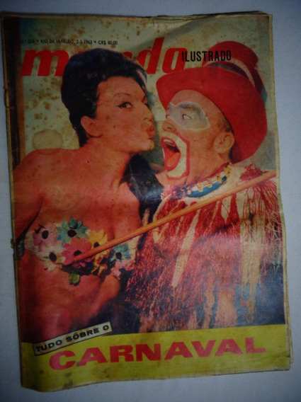 Revista Mundo Ilustrado Carnaval N°268 Janeiro 1963