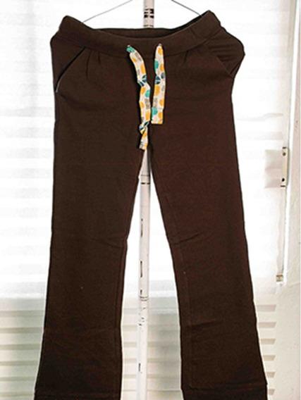 Pants De Algodón Café Roxy 100% Original