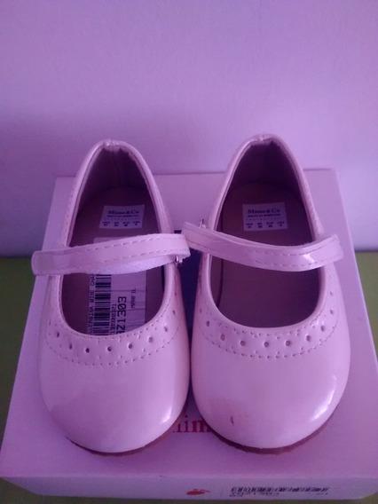 Zapatos Niñas Color Marfil