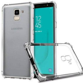 Kit Capinha Antichoque E Película Vidro Samsung J6 J600g