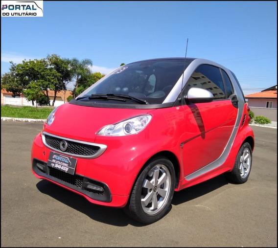 Smart Fortwo - 2013 - Vermelho, 1.0 Turbo, Completo !!