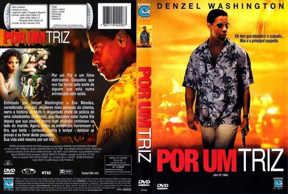 Dvd Filme Por Um Triz - Denzel Washington
