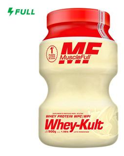 Whey Protein Kult - 1kg - Muscle Full Leite Fermentado