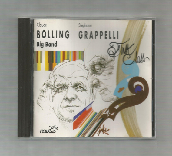 Claude Bolling Stéphane Grappelli First Class Cd Usado
