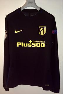 Jersey Atletico De Madrid Manga Larga Fernando Torres Player