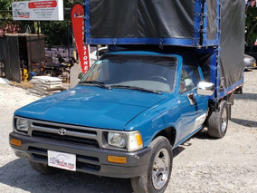 Toyota Hilux Rn 85 1994, Azul, 371.040, Estaca, Publica
