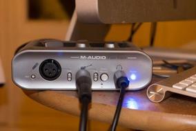 Interface - Placa De Audio Usb M-audio Fast Track