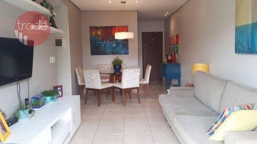 Imagem 1 de 9 de Apartamento Com 3 Dormitórios À Venda, 89 M² Por R$ 320.000,00 - Jardim São Luiz - Ribeirão Preto/sp - Ap7026