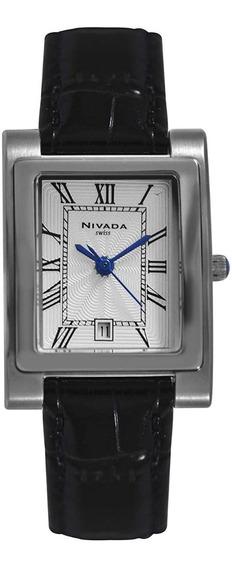 Reloj Nivada Swiss Ejecutivo Para Dama Np4578lacbr