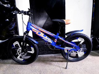Bicicleta Rin 20b Freno De Disco Y Suspensión Delantera