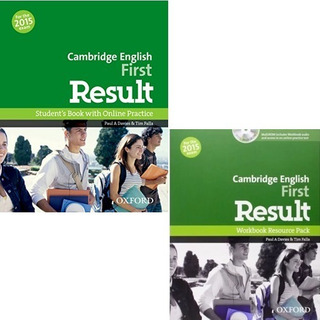 Cambridge English First Result - Student´s Book And Workbook
