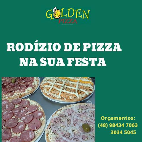 Imagem 1 de 1 de Rodízio De Pizza Na Sua Festa.