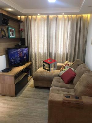 Apartamento Com 2 Dormitórios À Venda, 49 M² Por R$ 230.000 - Parque São Vicente - Mauá/sp - Ap61855