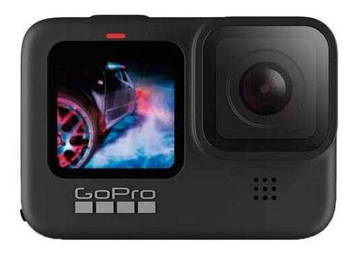 Câmera Gopro Hero9 À Prova D Água, Lcd Frontal, 5k, 20mp