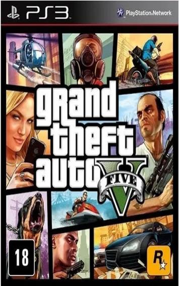 Gta 5 V Ps3 - Grand Theft Auto - Envio Hoje!