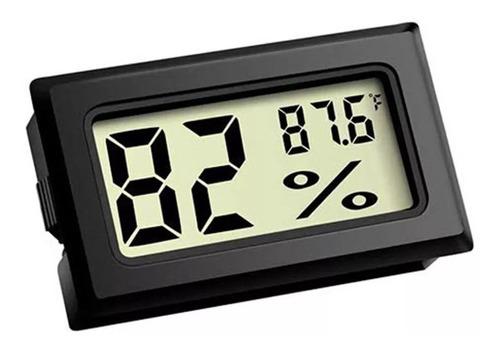 Mini Termometro De Humedad Digital Con Sensor Febo