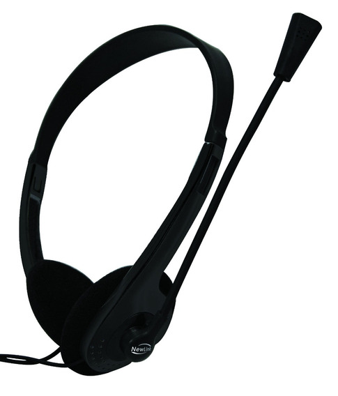 Headset Com Microfone Newlink High Tone - Hs302
