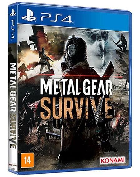 Metal Gear Survive - Ps4 - [ Mídia Física E Original ]